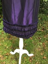 Ladies Fitted Corset Style Dress By Nightway In Size 4 Colour Very Dark Purple