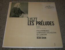 Liszt Les Preludes Mazeppa Orpheus Battle Of The Huns Dixon~XWN 18280~FAST SHIP!