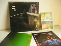 Pink Floyd Dark side of the moon LP NMINT- Complete 2 giant posters & cards