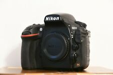 Nikon D810 Body Only, 36,3 Mpx used with only 3100 shots made!