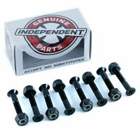 "Indy Independent Skateboard Bolts Phillips Black 1.25"" New Free Delivery Skate"