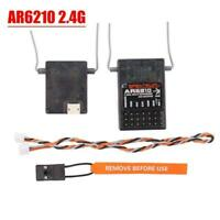 AR6210 Receiver+ JR Remote Controller Full Set DSM-X 6-Channel For Spektrum B8R5
