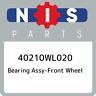 40210WL020 Nissan Bearing assy-front wheel 40210WL020, New Genuine OEM Part