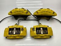 14-19 Chevy C7 Corvette OEM Yellow Z51 Brake Calipers (Front/Rear)