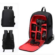 Waterproof DSLR Camera Bag with Tripod Holder Laptop Backpack
