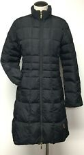 MONCLER CLASSIC BLACK QUILTED DOWN PUFFER COAT MIDI LENGTH STROLLING COAT SZ 1