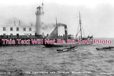 YO 2126 - Lighthouse & Trawler, Scarborough, Yorkshire - 6x4 Photo