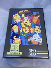 Magic Drop 2 Authentic SNK Neo Geo MVS Cart English Label Shock Box