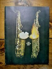 St. Louis Memphis Cincy Cleveland Jazz Festival 1967 Program Simone Gillespie