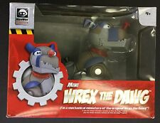Mini WREX the DAWG mechanical dog Wow Wee Robotics SPINNING EYES poseable legs