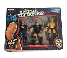 Steve Austin Stone Cold Jakks Pacific WWF Special Collection 3 Action Figures