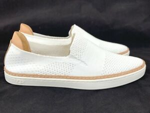 Ugg Sammy Knit White Slip On Casual Sneakers 1016756