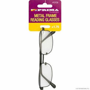 1 XPRIMA Reading Glasses With Designer Metal Frame Strength