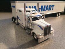 Tonkin Replicas 1/87 HO Kenworth W900L Wal-Mart Tractor w/53' Dry Trailer