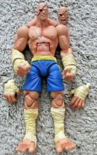 STREET FIGHTER SOTA TOYS SAGAT AUTHENTIC RARE ROUND 1