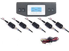 Digital Air Pressure Gauge 5-Position Gauge panel with 4 3-Position switches