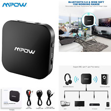Mpow Wireless Bluetooth 5.0 Transmitter Receiver Audio Optical Adapter for TV PC
