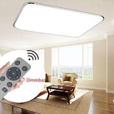 72W LED Deckenleuchte Badleuchte Wandlampe Deckenlampe Dimmbar Wohnzimmer+FB