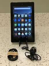 Amazon Kindle Fire Tablet HD 6 8GB WiFi 6in Android SR043KL W/Sony Headphones