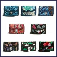 NWT Vera Bradley Ultimate Wristlet Purse Wallet Pushlock Trifold Zip Around