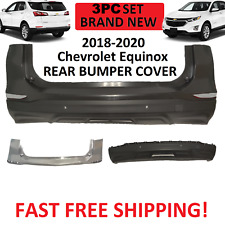 2018 2019 2020 CHEVY CHEVROLET EQUNIOX REAR BUMPER UPPER LOWER  WITH SENSORS