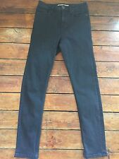 Topshop Moto Skinny Jeans Jamie Washed Black wash Size 12 W30 to fit L34 Ad36