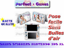 Skin sticker auto-collant vinyl Violetta n°7 pour console nintendo 3DS XL LL