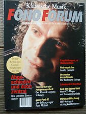 FONO FORUM 12/94  POINT SOURCE PS 5.1 PS 10,ACCUPHASE E 207.GESPRÄCH:SIMO RATTLE