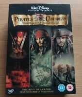 Pirates Of The Caribbean Trilogy (DVD, 2011, 3-Disc Set, Box Set)