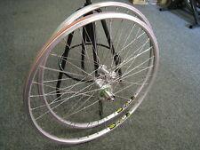 Retro Hope Wheelset - Hope hubs, Silver Mavic Rims