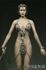 Custom 1/6 Cupid Goddess of Love Venus Suit Set For Phicen Female Mid Bust Body