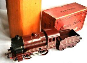 Hornby Series O gauge c1933,L.M.S. Clockwork No.1 Tender Locomotive