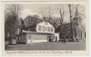 Postcard Hamburg Bergstedt Alstertal Guest House Otto Rose 1956