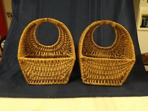 Wicker Basket Wall Storage/Decoration