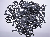 Back Lead Clips and Rubber Pack of 50 - Carp Coarse