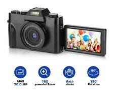 CT-2 Digital Camera, 2.7K 30MP Full HD Camera, Vlogging Camera with 16X Digital