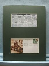 Wall Street -  the 1929 Stock Market Crash and its First day Cover