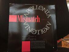 "APOLLONIA MISMATCH 12"" PRINCE 1989 WARNER BROS  PRO-A-3394 DJ PROMO"