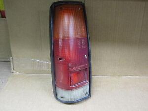 ISUZU TROOPER 87-91 1987-1991 TAIL LIGHT w/ BLACK BEZEL DRIVER LH LEFT OEM