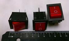 1pc Rocker Switch DPST 4 Pins 20A/125VAC 15A/250VAC A142 + USA Free Shipping