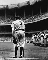 1948 New York Yankees BABE RUTH Glossy 8x10 Farewell Photo Baseball Print Poster