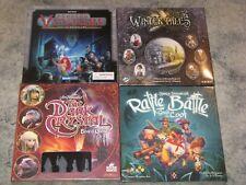 boardgame lot NEW Dungeon Venture/Winter Tales/Dark Crystal/Rattle Battle Loot