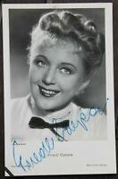 34767 Photo Ross Édition Autographe Original Ak Friedl Czepa À 1940 Film Kino