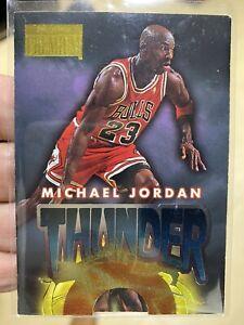 1996-97 SkyBox Premium Thunder and Lightning #1 Michael Jordan Near Mint-Mint
