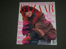 1990 OCTOBER HARPER'S BAZAAR MAGAZINE - ISABEELLA ROSSELLINI COVER - SP 4526