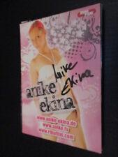 61661 Anike ekina erotismo modelo original con firma de autógrafos mapa