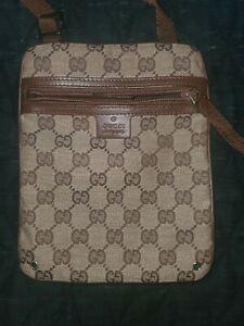 Gucci (Vintage) GG Monogram Shoulder Crossbody Bag excellent condition
