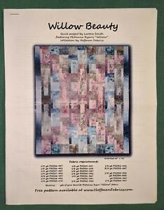 Keepsake Quilting, Willow Beauty Quilt Kit - Hoffman Fabrics by Larene Smith