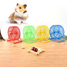 Wheel Running Exercise Plastic Scroll Silent Hamster Mouse Rat Gerbil Pet Toyerv