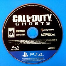 Call of Duty: Ghosts (Sony PlayStation 4, 2013) Disc Only # 14167